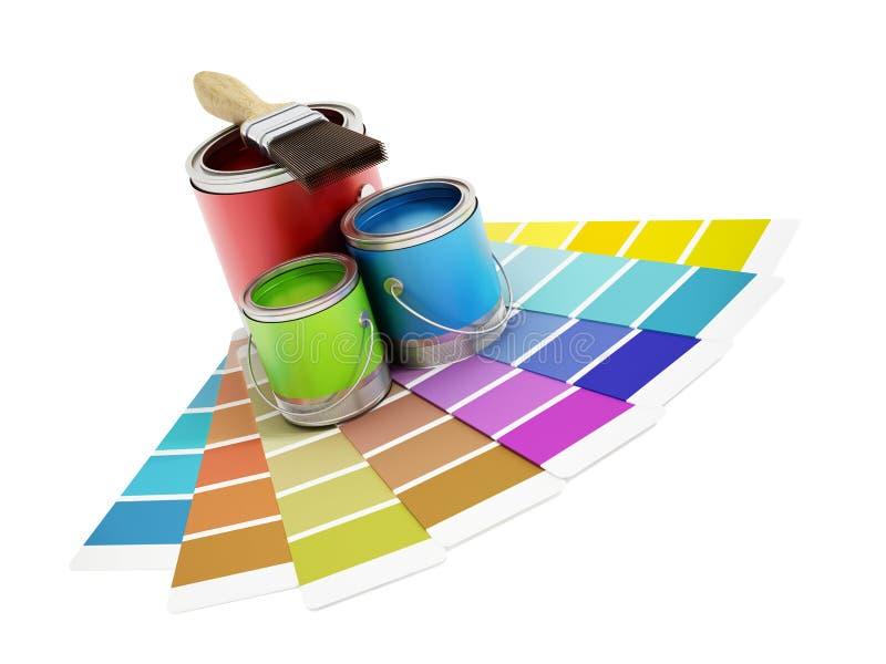 dekorera home stock illustrationer