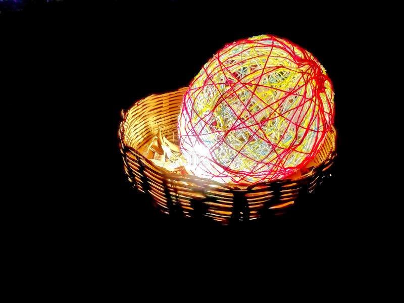 Dekorera ljusbollar arkivbilder