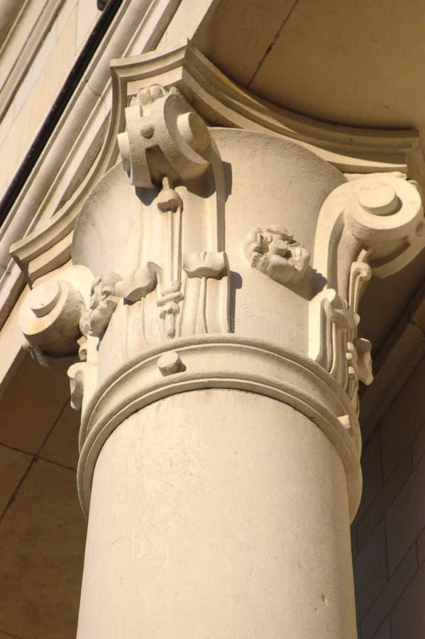 dekorerad kolonn arkivbild