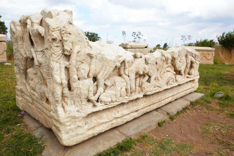 Dekorerade gravar arkivbild