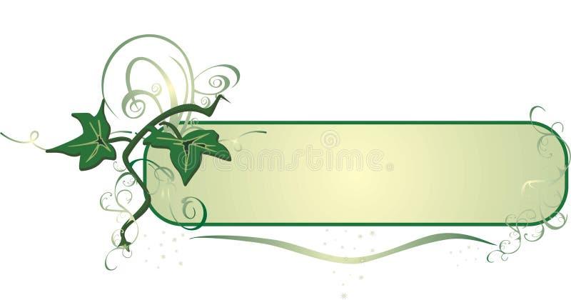 dekormurgröna royaltyfri illustrationer