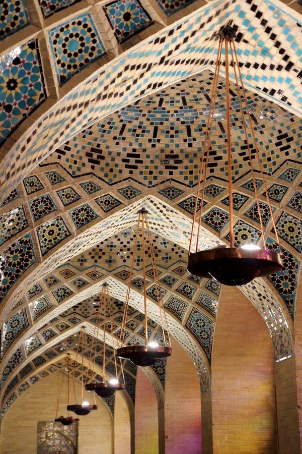 Dekorująca meczetowa kopuła fotografia stock