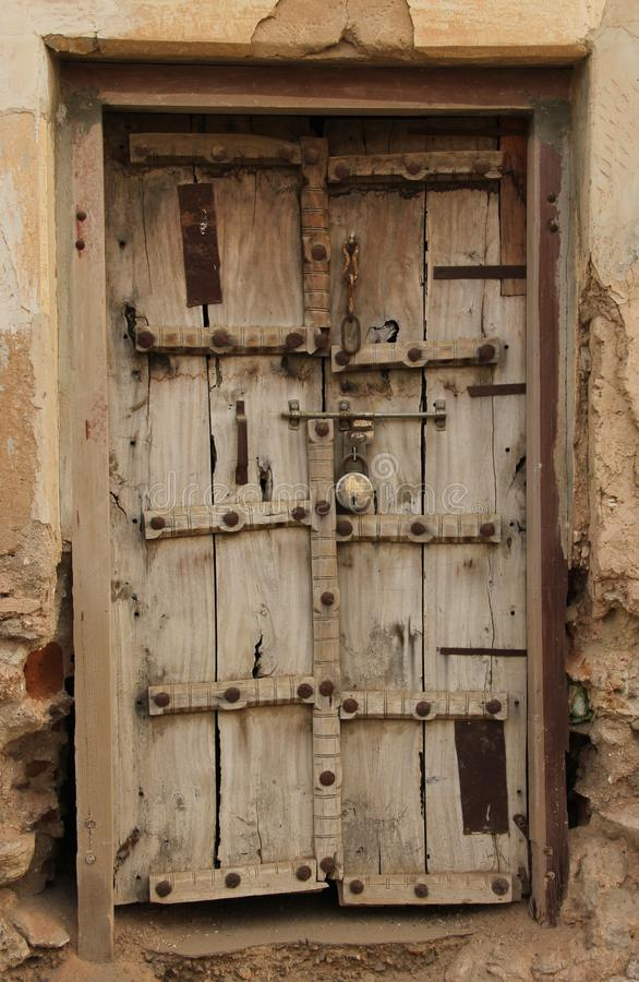 Dekorujący okno w Mandawa fotografia stock