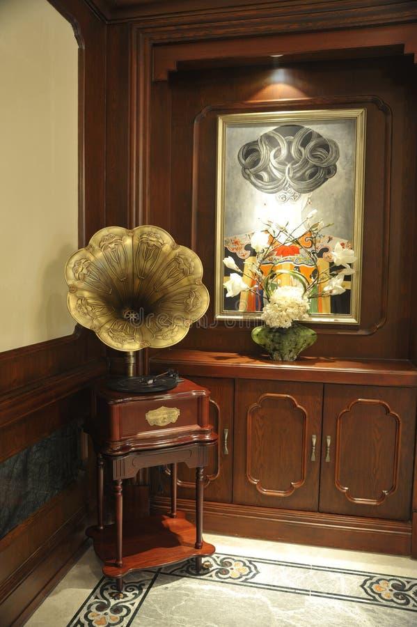 Dekoruje fonograf obrazy royalty free