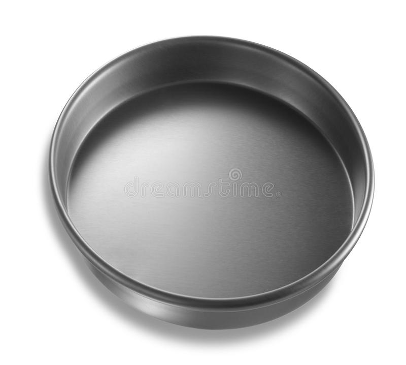 Deksel of Basis van Voedsel Tin Can stock foto's