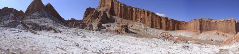 Del луна Valle - долина луны, в atacama, chile стоковое фото rf
