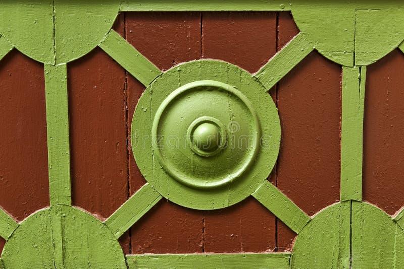 Del av den gammala dörren arkivbilder