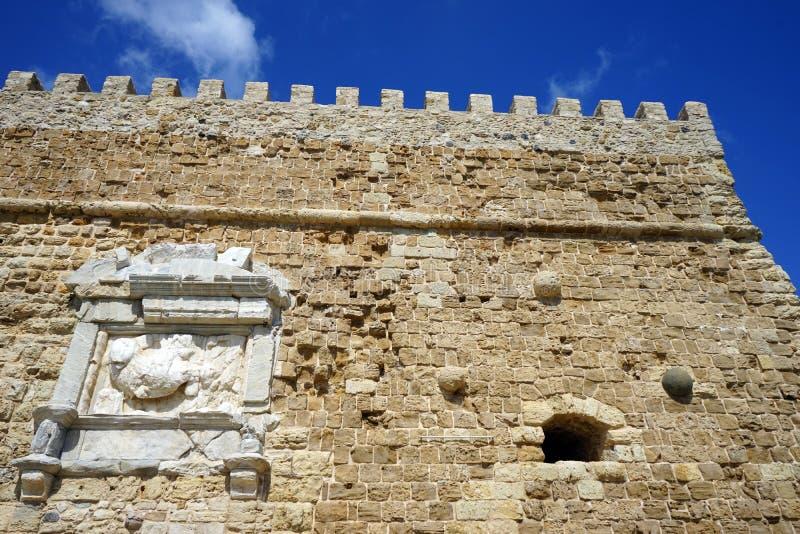 Del av fästningen arkivbilder