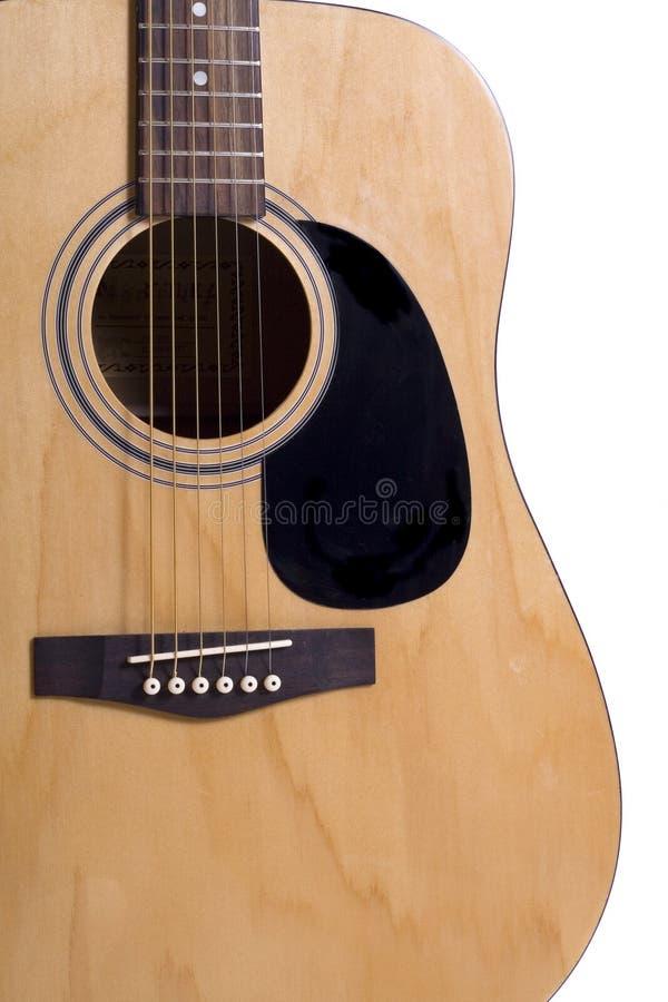 Del av gitarren royaltyfria bilder