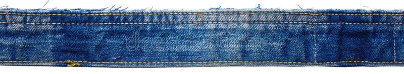 Del av jeansflåsanden fotografering för bildbyråer