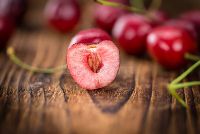 Del av körsbär arkivfoto