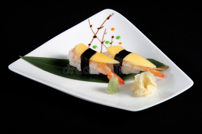 Del av sushi n arkivfoto