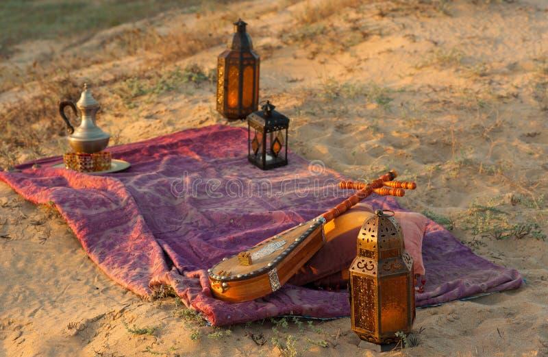 Del Bedouin vita ancora fotografia stock