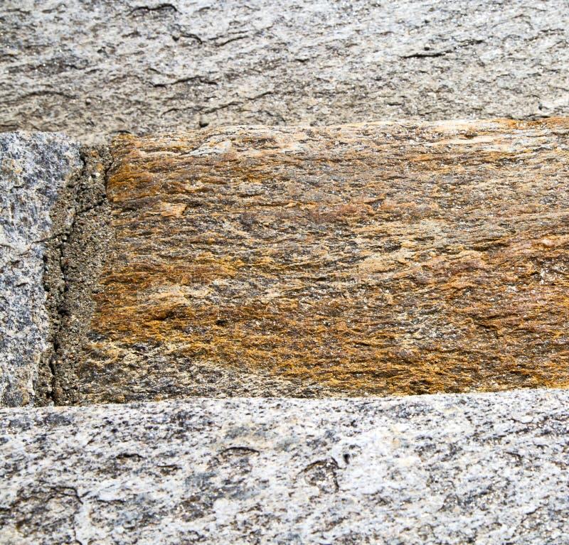 del besnate della via estratto di Varese taly di una chiesa e di un marmo immagine stock libera da diritti