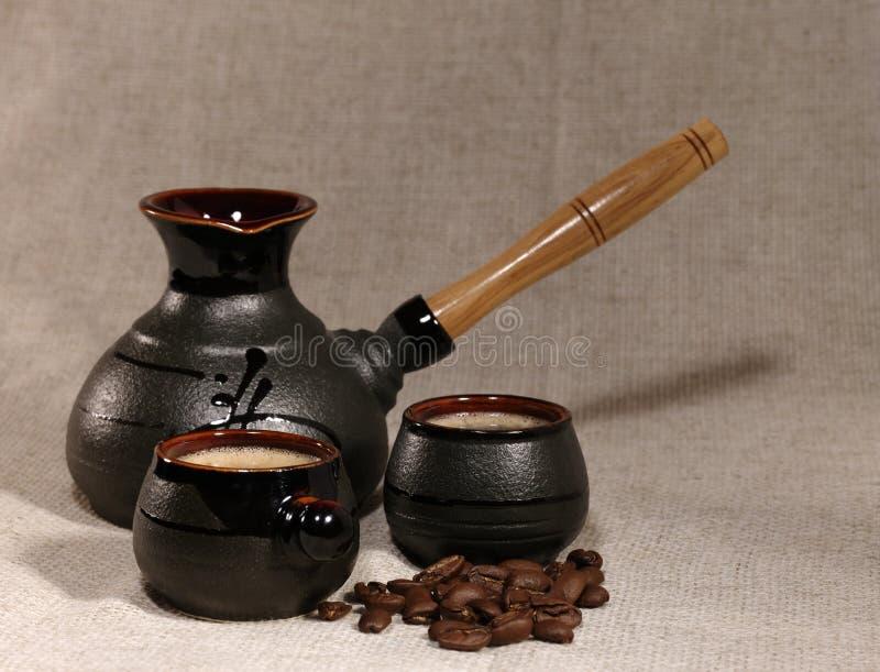 Del caffè vita ancora immagini stock