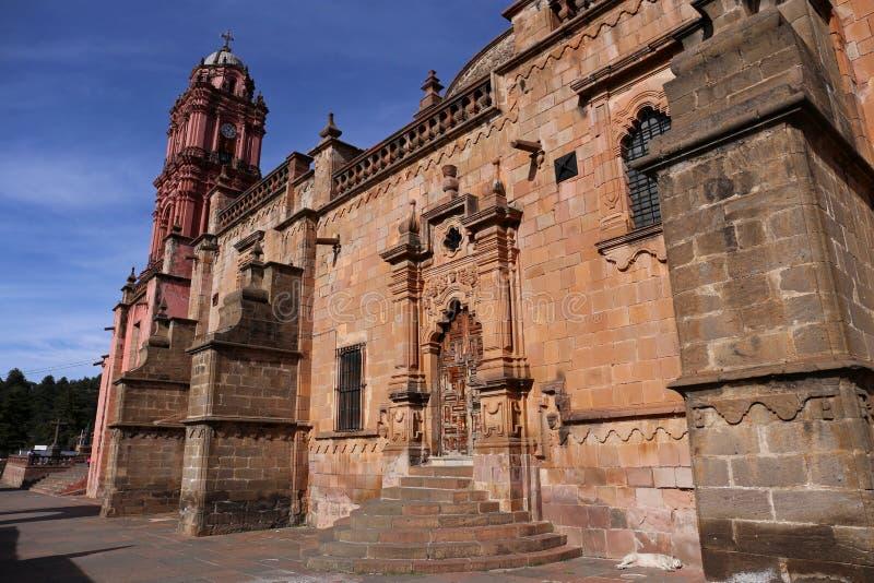 Del Carmen de Exconvento Santuario de la Virgen imagens de stock royalty free
