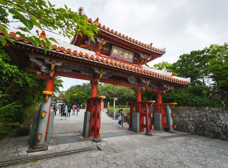 ` del castillo de Shuri del `, Okinawa imagenes de archivo