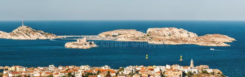 ` Del castillo francés d si cerca de Marsella foto de archivo