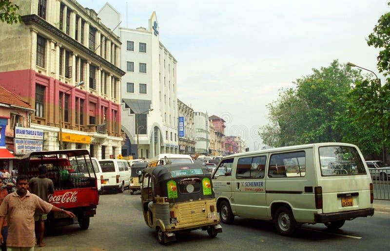 Del centro, Colombo, Sri Lanka immagini stock