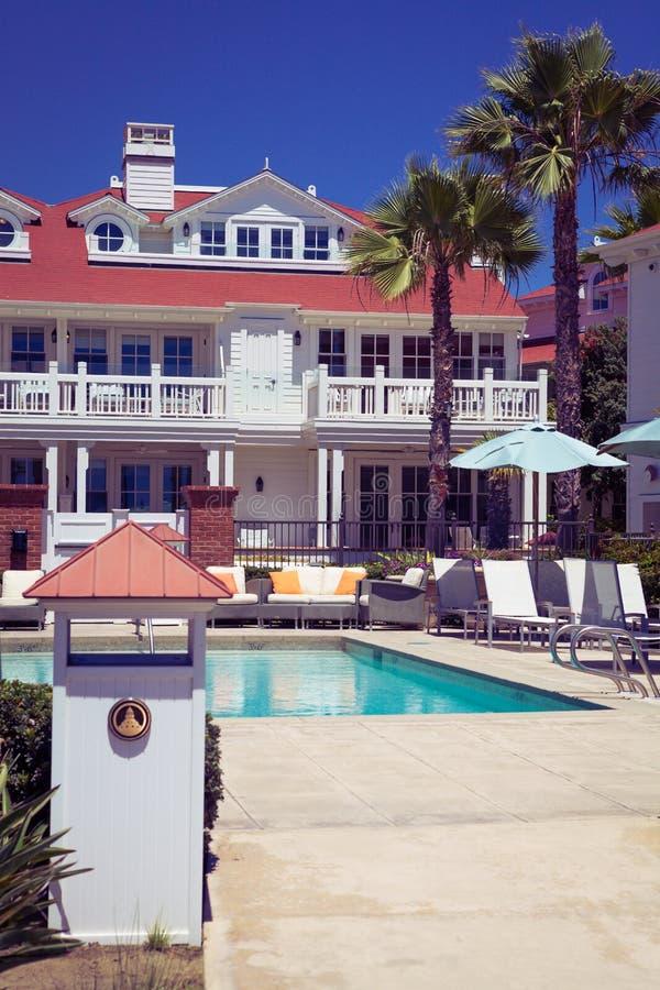 Del Coronado Hotel, Σαν Ντιέγκο ΗΠΑ στοκ εικόνες με δικαίωμα ελεύθερης χρήσης