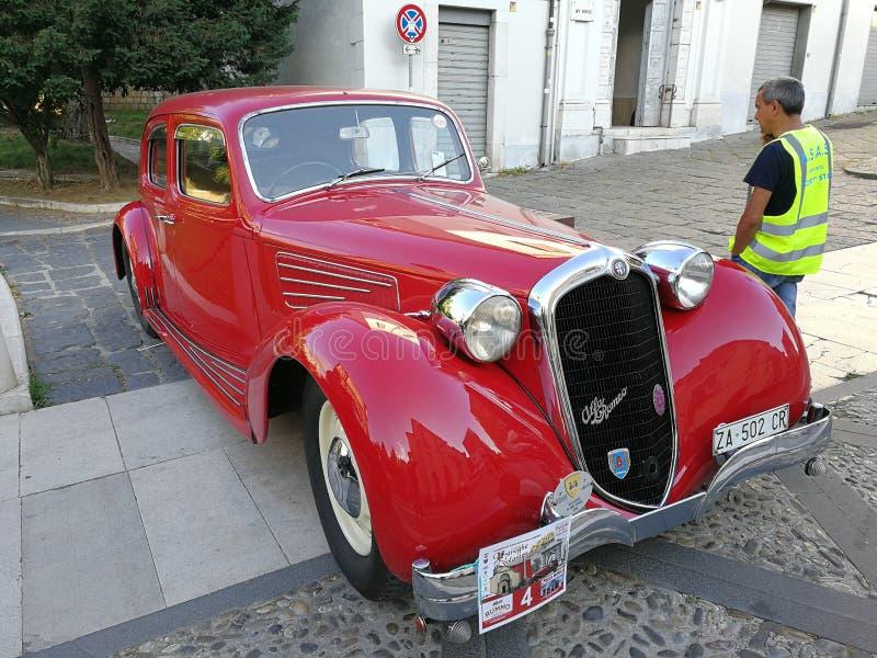 Del 1939 de Benevento - de Alfa Romeo 2500 Turismo imagem de stock royalty free