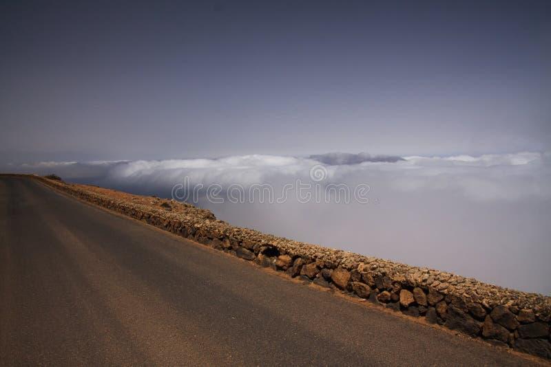 Del de Mirador Rio - Lanzarote photographie stock libre de droits