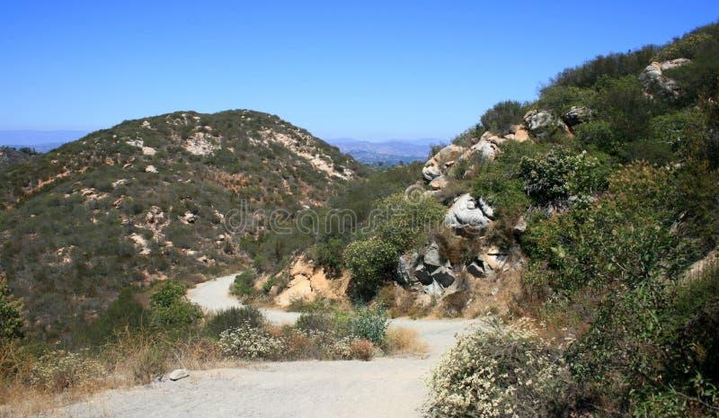 Del Dios Trail Stock Photo