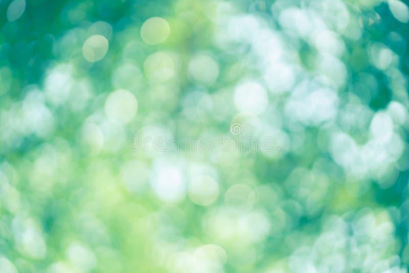 Del extracto de la falta de definición del color verde para el concepto del fondo, borroso y defocused del efecto de la primavera imágenes de archivo libres de regalías