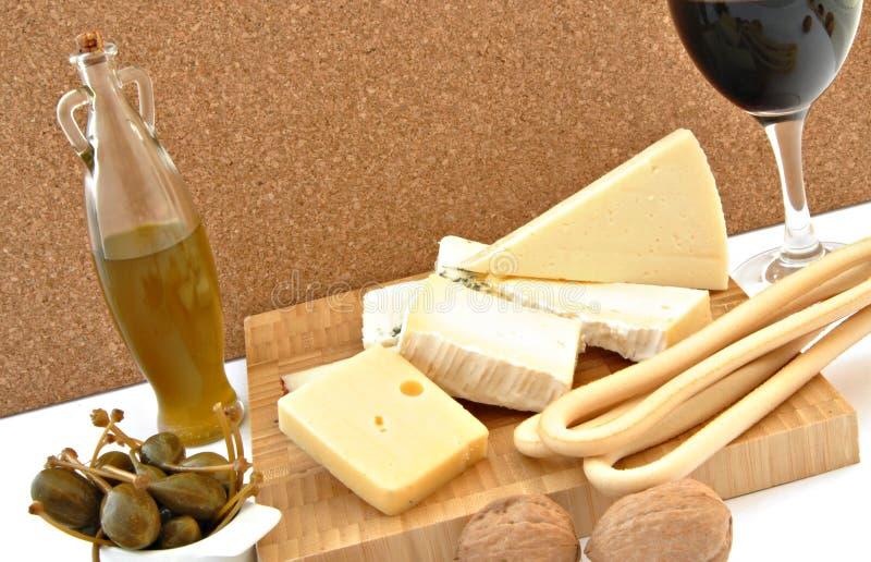 Del formaggio vita ancora fotografia stock libera da diritti