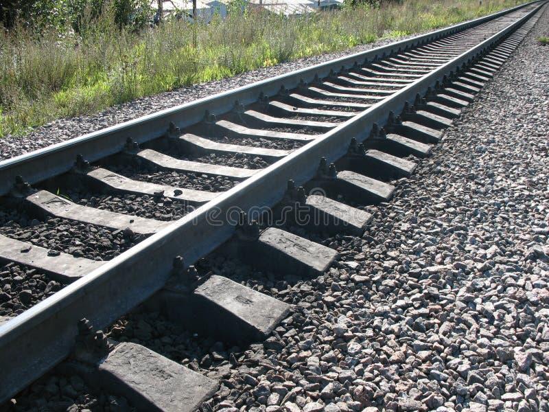 Del funcionamiento un ferrocarril lejos foto de archivo libre de regalías