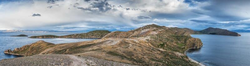del isla κολλοειδές διάλυμα Νησί του ήλιου στη λίμνη Titicaca boleyn στοκ εικόνα με δικαίωμα ελεύθερης χρήσης