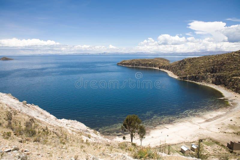 del isla sol titicaca 免版税库存图片