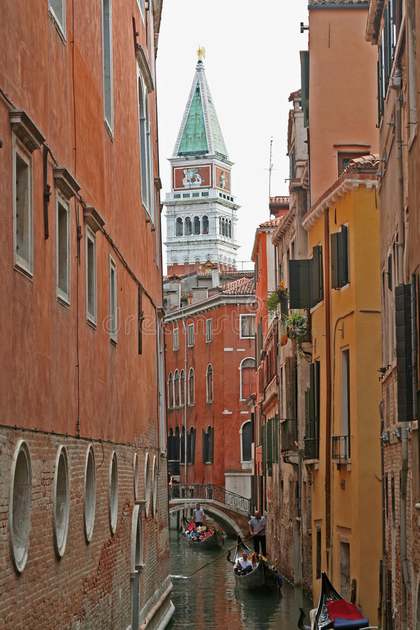 del kanałowy Włoch lovo Wenecji zdjęcie stock