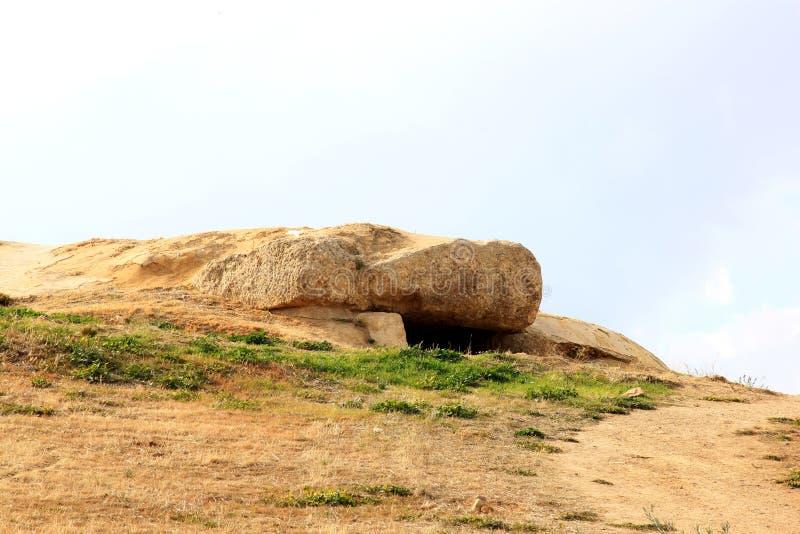 del kopplade samman spain för antequera dolmensmenga arkivbild