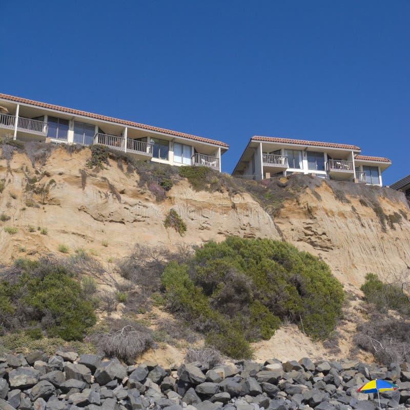 Del Mar Cliffs Toevlucht, San Diego, CA stock afbeelding