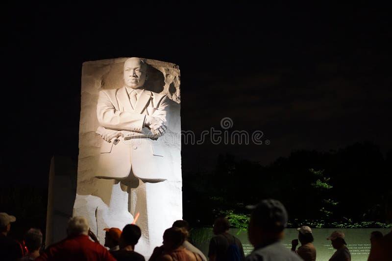 del monumento de Martin Luther King fotos de archivo
