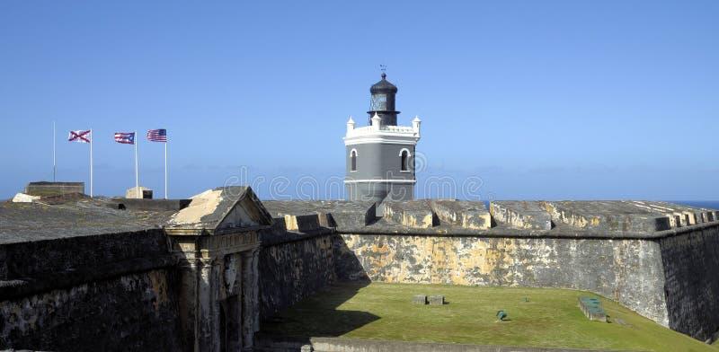 Del Morro Light royalty-vrije stock fotografie