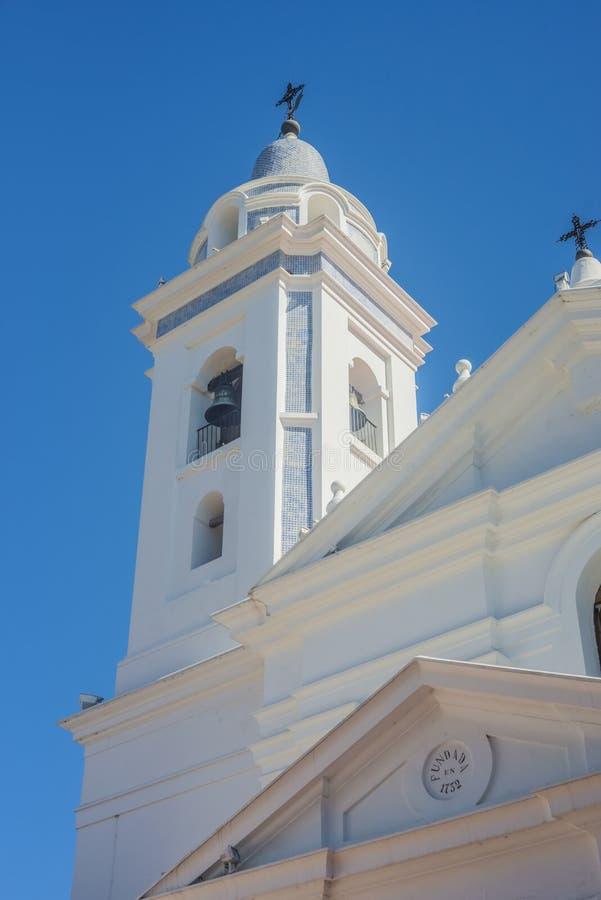 Del Pilar-kerk in Buenos aires, Argentinië royalty-vrije stock foto's