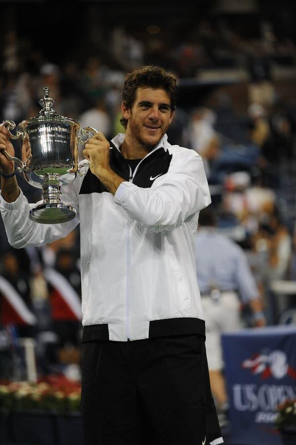 Download Del Potro Champion Of US Open 2009 (44) Editorial Photo - Image: 10935661