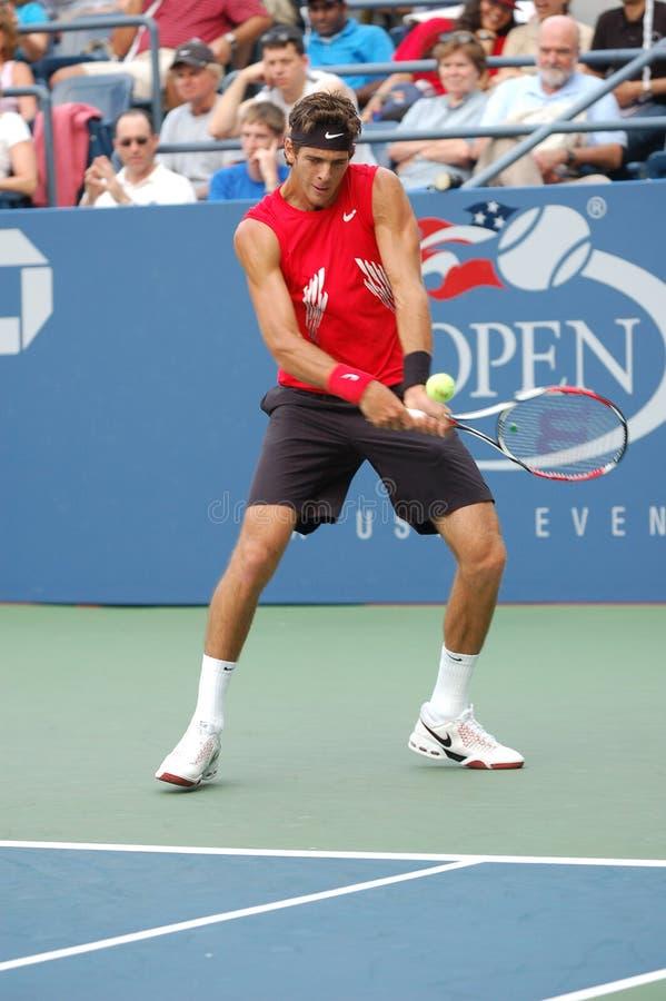 Del Potro US Open 2008 (13) stock photo