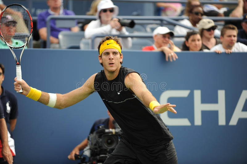 Del Potro at US Open 2009 (22) royalty free stock image