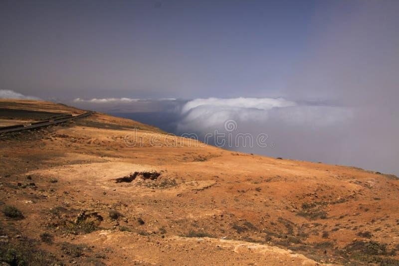Del Río - Lanzarote de Mirador fotografía de archivo libre de regalías