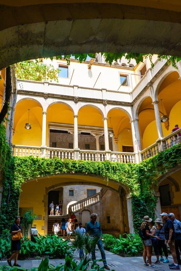Del Rei Marti de Mirador en Barcelona, España foto de archivo libre de regalías