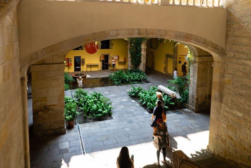 Del Rei Marti de Mirador en Barcelona, España imagen de archivo libre de regalías