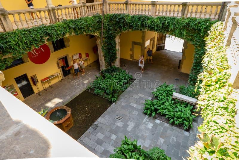 Del Rei Marti de Mirador en Barcelona, España fotos de archivo