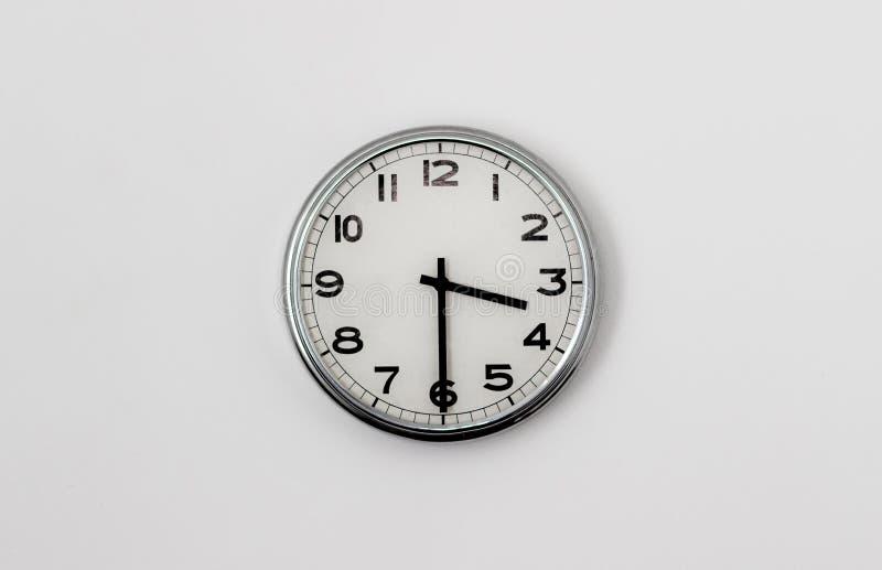 3:30 del reloj fotografía de archivo libre de regalías