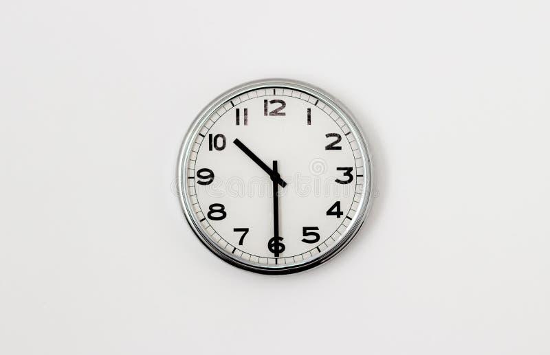 10:30 del reloj imágenes de archivo libres de regalías