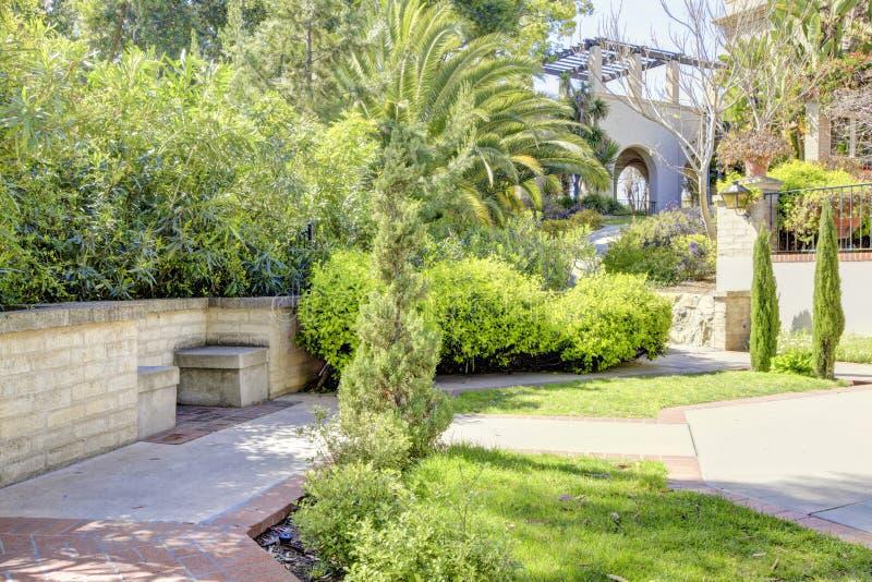 Del Rey Moro Garden de la casa. Parque del balboa imagen de archivo libre de regalías