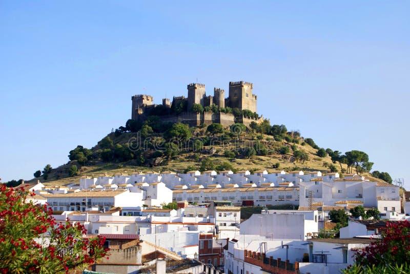 Del Rio d'Almodovar et château des its à Cordoue, Espagne photos libres de droits