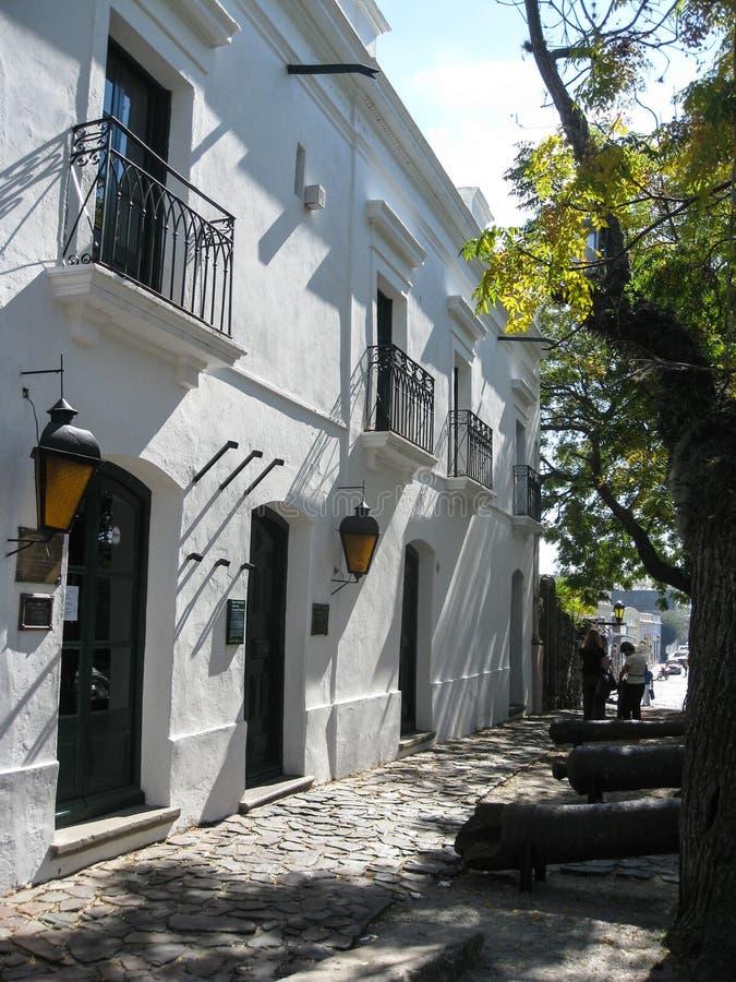 Del Sacramento Uruguai di Colonia immagini stock libere da diritti